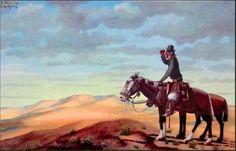 con caballo de tiro