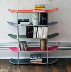 Skateboard Shelf #skatedeluxe #sk8dlx