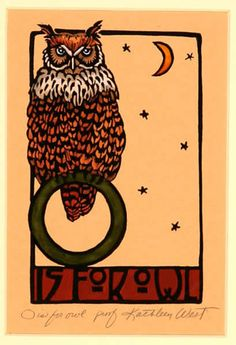 'O for Owl' by Kathleen West