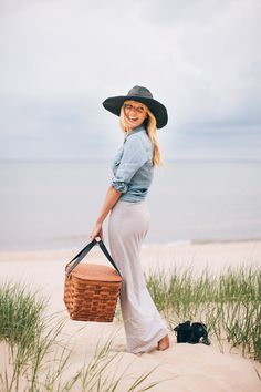 a sunny afternoon picnic style // smitten outfits summer summer clothes summer outfits waterfalls Mode Style, Style Me, J Crew Catalog, Beach Please, Picnic Style, Trendy Swimwear, Bikini Swimwear, Bikinis, Spring Summer Fashion