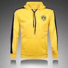 2017 Cheap Sweater Jacket Borussia Dortmund Replica Football Shirt Yellow [JFCB989]