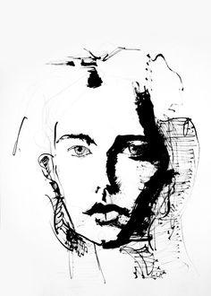 ink line no. 4 I #artist lee woodman 2012