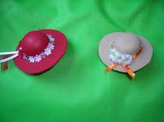 Resultado de imagem para Sombreros de Goma Eva