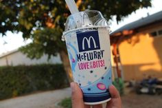 McFlurry! I do love it to bits (; Only thing I like at McD's. I NEVER eat there
