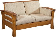 You'll save on every piece of furniture at Amish Outlet Store! Each piece is custom made by highly-skilled Amish crafters who use quality solid wood and materials. Save up to off retail on the Barrington Loveseat in any wood and stain of your choosing! Diy Furniture Plans, Furniture Styles, Furniture Design, Amish Furniture, Solid Wood Furniture, Buy Bedroom Set, Wooden Sofa Set Designs, Small Kitchen Furniture, Wardrobe Furniture