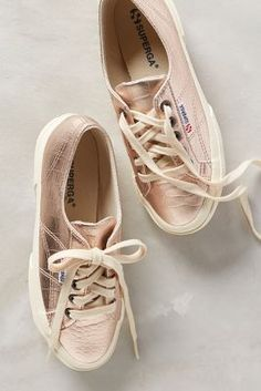buy online 398af 4807a Shop the Superga Metallic Sneakers and more Anthropologie at Anthropologie  today. Read customer reviews,