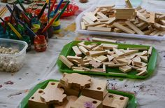 Reggio Inspired Wood Working for Three and Four Year Olds