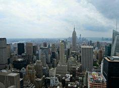 Foto de la vista de Top of the Rock por @IreBenavent - Si quieres tener las mismas vistas, mira toda la info aqui: http://www.newyorkando.com/rascacielos/rockefeller-center