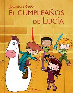 """Cuento App Gratuita """"El cumpleaños de Lucía"""" Portada Tema: La aceptación de yo Ilustración: Marta De La Fuente Gómez http://lironcilloart.com/"""
