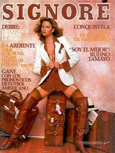 Playboy (Mexico) September 1981  with Playmate Debbie Boostrom inside magazine