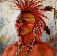 Pawnee Strength painting   James Ayers 2016