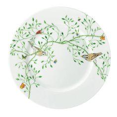 Raynaud Wing Song Dessert Plate.