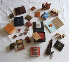 Jozsef Tari, Hungary - Guinness record miniature book collector