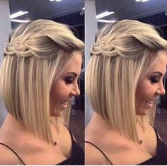 Wedding Hairstyles Half Up Half Down Half Up Half Down Braid Bridesmaid Hair - Picking a common theme like, braids is a great way to let everyone pick a hairstyle that fits their look. Check out these 8 stunning braided bridesmaid hair ideas below! Bride Hairstyles, Pretty Hairstyles, Easy Hairstyles, Medium Hairstyles, Pixie Hairstyles, Pixie Haircut, Hairstyles Haircuts, Hairstyle Ideas, Blonde Haircuts