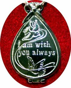 """Merry Christmas From Heaven Keepsake Locket with Memory Box by MooneyTunCo, Inc.. $29.95. Keep the love of departed family and friends close to your heart during the holidays with a meaningful Merry Christmas from Heaven locket and card set inspired by John Wm. Mooney Jr.'s poem, """"Merry Christmas from Heaven.""""   With space for a photo, this memorial keepsake pendant is a touching bereavement gift to remind us that loved ones who have passed may be gone, but will alwa..."""