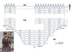 Crochetpedia: Crochet Vestidos curtos ou longos Shirts