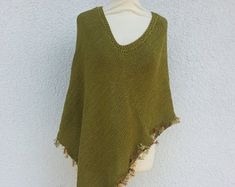 Handmade Bohemian Clothing by AnnaHandmadeknitwear on Etsy