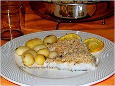 Un Tavolo per Quattro: Merluzzo gratinato al limone con patate novelle