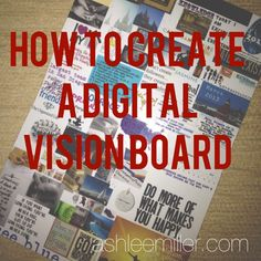 Vision Board - How to Create a Digital Vision Board
