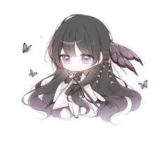 Dibujos Anime Chibi, Cute Anime Chibi, Cute Anime Pics, Anime Girl Cute, Kawaii Anime Girl, Anime Art Girl, Loli Kawaii, Kawaii Chibi, Kawaii Art