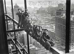 Lunch Hour With Harmonicas, 22 Floors Up - 1925