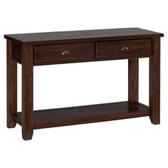 Magnussen Anastasia Traditional Rectangular Entryway Table with