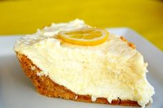 Luscious lemon icebox pie | BabyCenter Blog
