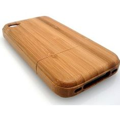 $10.40 Iphone 4 Bamboo Case - Hand Made