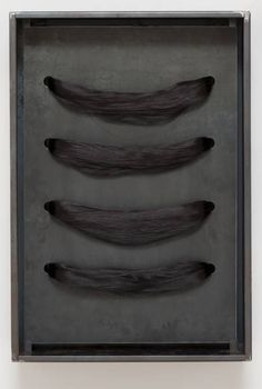 Jannis Kounellis 'Untitled (Hair)', 2004 © Jannis Kounellis