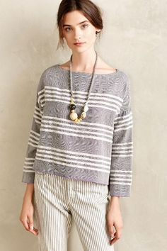Seafaring Pullover - anthropologie.com