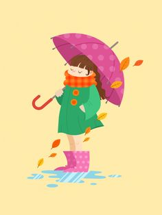Create an Autumn Girl Illustration in Affinity Designer - Envato Tuts+ Design & Illustration Tutorial Autumn Illustration, Simple Illustration, Graphic Design Illustration, Illustration Styles, Adobe Illustrator Tutorials, Photoshop Illustrator, Character Design Tutorial, Affinity Photo, Affinity Designer