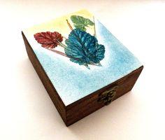 Personalisierte Gravur Holzkiste Box por Tutorialpaper en Etsy