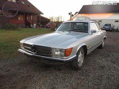 Mercedes-Benz SL 450 SLC 200Hk V8 VETERANBIL 1974, 234 590 km, kr 36 000,-
