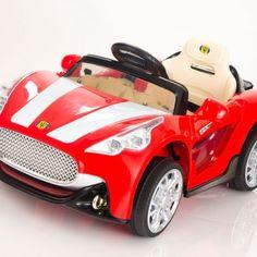 Carrito Electrico Maserati Rojo Control Remoto