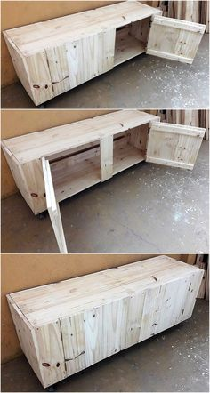 Adorable, Affordable DIY Ideas with Recycled Pallets: The ideas of recycling wood pallets we have presented here are affordable because nothing other than Wood Pallet Recycling, Diy Pallet Sofa, Diy Pallet Projects, Pallet Furniture, Pallet Wood, Pallet Ideas, Pallet Designs, House Furniture, House Projects