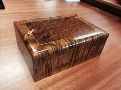 Gorgeous Marquetry box made in Hawaii.  At our Ala Moana Center store 808-941-0074.  www.martinandmacarthur.com