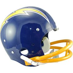 1980's classic San Diego Chargers  helmet