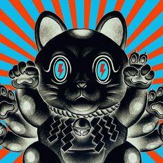 The Kimono Gallery Japanese Pop Art, Japanese Artists, Graphic Design Illustration, Graphic Art, Illustration Art, Symbolic Art, Denim Art, Psy Art, Goth Art
