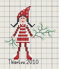 Petite fille modèle...de Noël...
