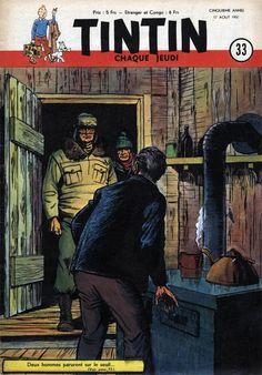 Le Journal de Tintin - Edition Belge - N°  204 - 1950-33 - Jeudi 17 Août 1950 - Couverture : Albert Weinberg