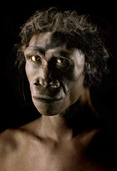 Facial reconstruction of Homo erectus (ER from east Africa by John Gurche Forensic Facial Reconstruction, Human Evolution, Prehistoric Creatures, Photographs Of People, First Humans, Ancient Artifacts, Anthropology, Portraits, Ancient History