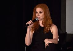 Sarah Rafferty speaks at Premiere of USA Network's 'Suits' Season 5 http://celebs-life.com/sarah-rafferty-speaks-premiere-usa-networks-suits-season-5/  #sarahrafferty