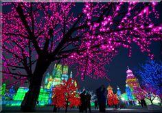 FESTIVAL DE HIELO EN HARBIN - CHINA