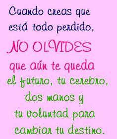 #inspiracion #frases