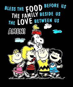 Snoopy, Charlie brown and Peanuts gang Charlie Brown Thanksgiving, Charlie Brown Christmas, Charlie Brown And Snoopy, Peanuts Gang, Peanuts Cartoon, Peanuts Quotes, Snoopy Quotes, Snoopy Toys, Dinner Prayer