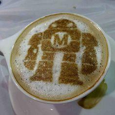 latte art robot