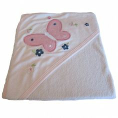Babytæppe/svøb sommerfugl
