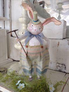 Gardening bunny / Spring collection