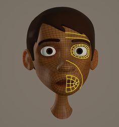 Modelando no Mays Zbrush Character, Character Modeling, 3d Character, Character Reference, Pose Reference, Digital Painting Tutorials, Digital Art Tutorial, Art Tutorials, Cartoon Faces