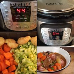 Beef Stew - Pinch Of Nom Slimming Recipes Instant Pot Pressure Cooker, Pressure Cooker Recipes, Pressure Cooking, Slow Cooker, Multi Cooker Recipes, Meatballs And Gravy, Pinch Of Nom, Pots, Slimming World Recipes